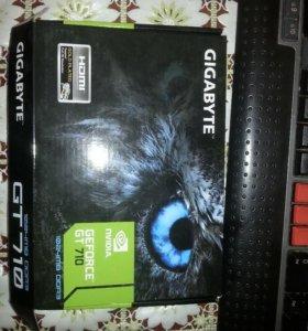 Видеокарта nvidia geforce GT-710. DDR3.1024mb