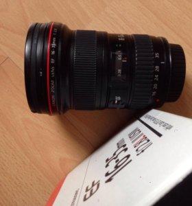 Объектив 16-35 f2,8L II usm Canon
