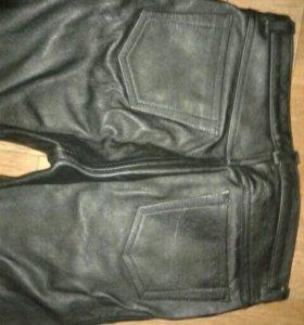 Штаны кожа мужские