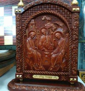 """Настольная икона """" Святая Троица"""""""