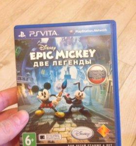 Игра Epic Mickey две легенды)