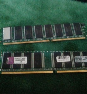 Оперативная память две планки