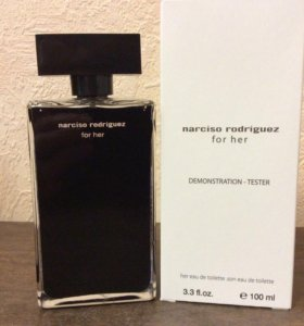 ✅tester NARCISO RODRIGUEZ for her