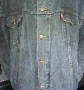 Levis джинсовая куртка 52-54