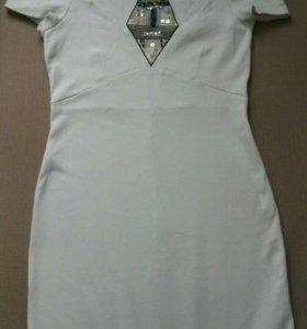 Платье-спереди шикарный вырез Клеопатра