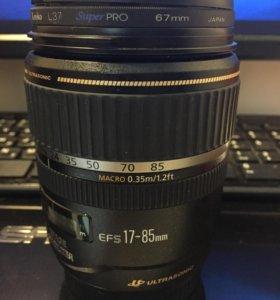 Canon ef-s 17-85