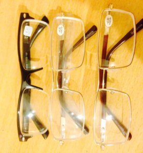 Очки с диоптрией (-4). 1шт