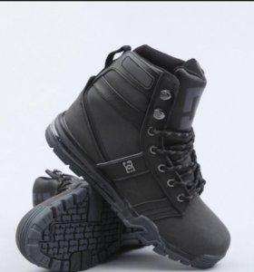Зимние ботинки DC! Натуральная кожа! Тёплые!