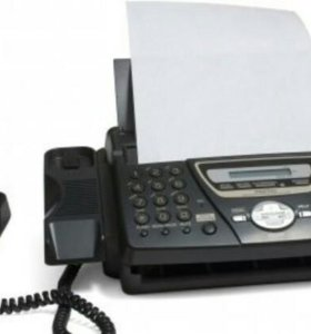 Отправка факса