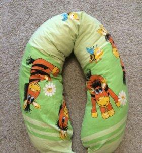 Подушка для беременных/ для сна и отдыха.