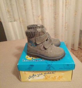 Детские ботинки весна-осень