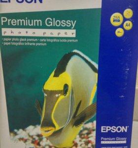 Бумага A4 Epson S041287 Premium Glossy Photo Paper