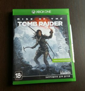 Игра Rise of the Tomb Raider для Xbox One