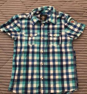 Рубашка H&M 7-8