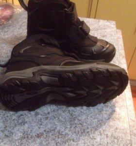 Зимние ботинки новые. Антилопа