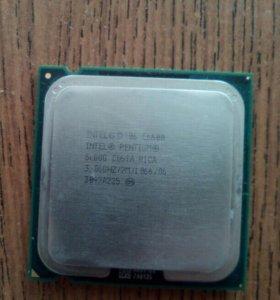 Процессор intel pentium e6600/3.06 Ггц/2m/