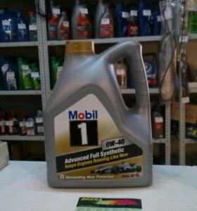 Масло моторное синтетическое Mobil 1 0W40 4L.