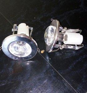 Точечные светильники .