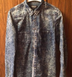 Рубашка джинсовая cropp