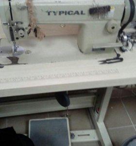 Швейная машинка TYPICAL на тяжёлую ткань