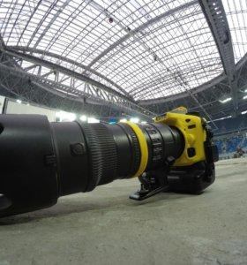Nikon D7100 + Nikkor 70-200 2.8 VR обмен на D750