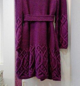 🌈 Вязаное пальто ⛅