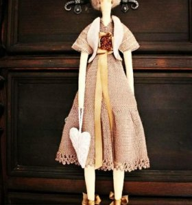 Текстильные куклы , тильда