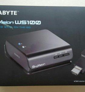 Gygabyte SkyVision WS100, hdmi по радиоканалу, нов