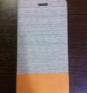 Чехол книжка на iPhone 6 6S серая