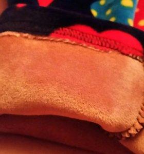 Кофточка и штанишки из плотного плюша