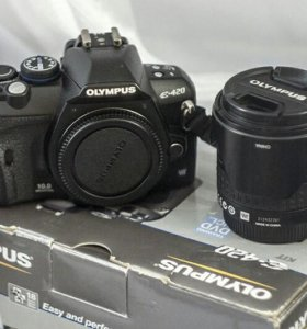 Olympus E-420 зеркальный фотоаппарат