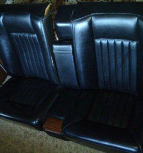 Задние сиденья Купэ 124 Mercedes