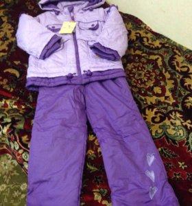 Новый демисезонный костюм р.116