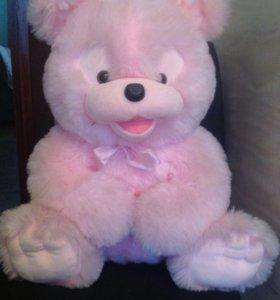 Медвежонок розовый 60см