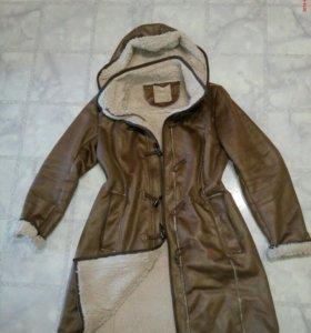 Дубленка куртка демисезонная