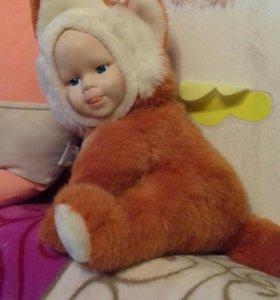 Куколка лисичка.Мишка из мультика