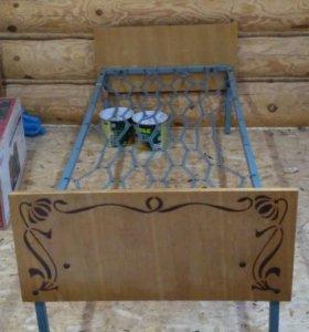 Кровать с панцирной сеткой