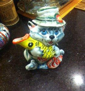 Чайник кот