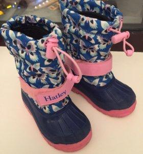 Сапожки Hatley