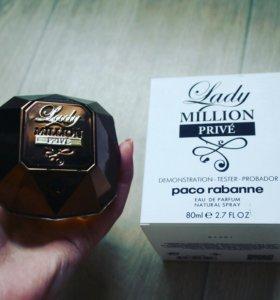 Тестер Paco Rabanne Lady Million Prive 80 мл