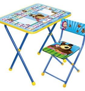 Комплект мебели Nika kids новый
