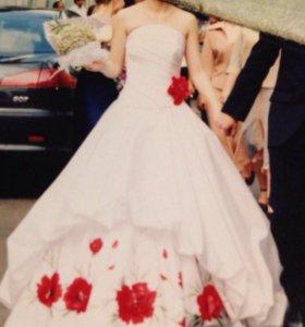 Свадебное платье, размер 40-42