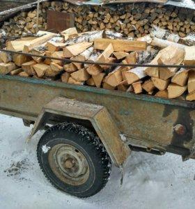 Прицеп дров