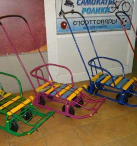 Санки Тимка 5 универсал 6 колес