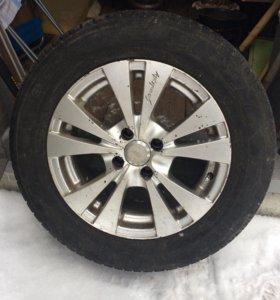 Продаю комплект колёс, 195 65 15
