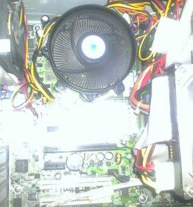 Материнская+процессор+охлаждение+оперативка.