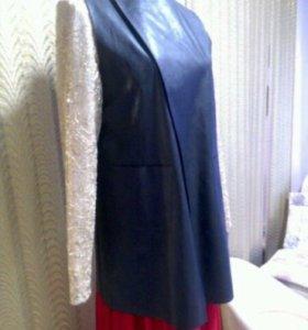 Пиджак ( под кожу )