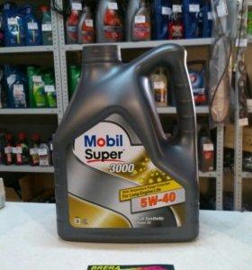 Масло моторное синтетическое Mobil Super 3000 5W40