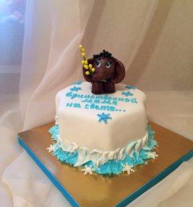 Торт маме.