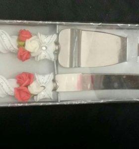 Свадебные приборы для торта